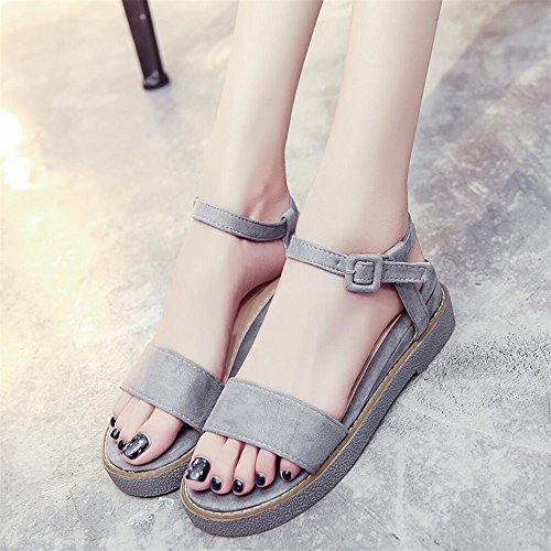 XZGC - Tira de tobillo Mujer gris