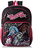 Best Monster High High School Back Packs - Monster High Big Girls' Ghouls Backpack, Multi, One Review