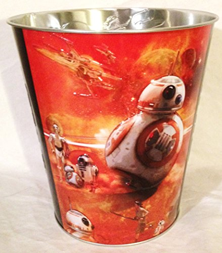 Star Wars The Force Awakens Movie Theater Exclusive 130oz Metal Popcorn Tub #4