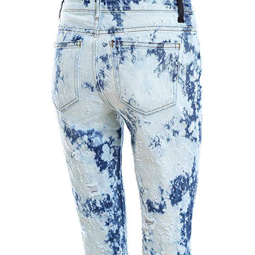 Bleu Coton WANG Claire Jeans Femme 4D484132BG116 ALEXANDER wftq7p7