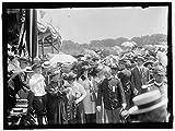 Vintography Reproduced 24 x 30 Photo Military Field Mass Holy Name SOC Roman Catholic Church 1910 Harris & Ewing a31