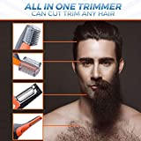 Domom 2 in 1 Hair Trimmer, Professional Painless