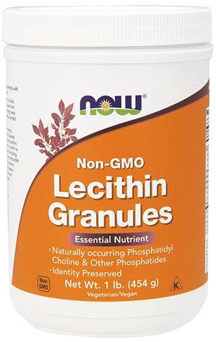 Lecithin Granules NON-GMO Now Foods 1 lbs Granule (Powder Oz 16 Granules)