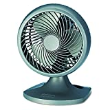 Holmes HOAF90-NTUC Blizzard 9' Three-Speed Oscillating Table/Wall Fan, Charcoal