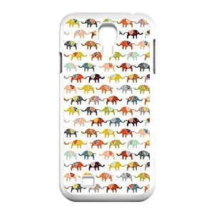 Cell phone Cases Of Elephant Bumper Plastic Hard Case For Samsung Galaxy S4 i9500