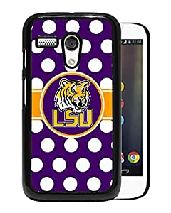 Popular Custom Designed Cover Case With Southeastern Conference SEC Football LSU Tigers 01 Black For Motorola Moto G Phone Case