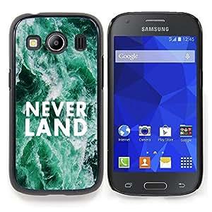"Planetar ( Neverland sueños Cita Hope Fairytale"" ) Samsung Galaxy Ace Style LTE/ G357 Fundas Cover Cubre Hard Case Cover"