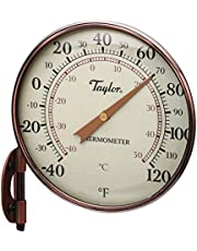 """Taylor Precision Products 481CR Heritage Thermometer, 4.25"""" Dial, Copper"""
