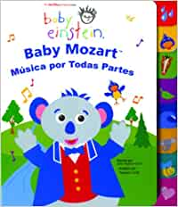 Baby Mozart Musica Por Todas Partes Baby Einstein: Libros