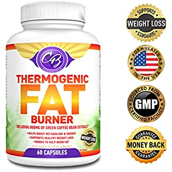 Amazon.com: Best Thermogenic Fat Burner Weight Loss Pills