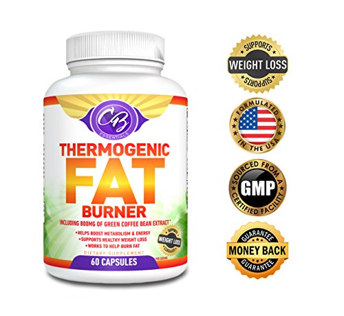 Most superbly Thermogenic Fat Burner Weight Loss Pills Garcinia Cambogia Green Tea Extract Raspberry Ketones 800mg Green Coffee Bean Glean for Weight Loss Belly Fat Burners Supplement Lose Fast CB Essentials