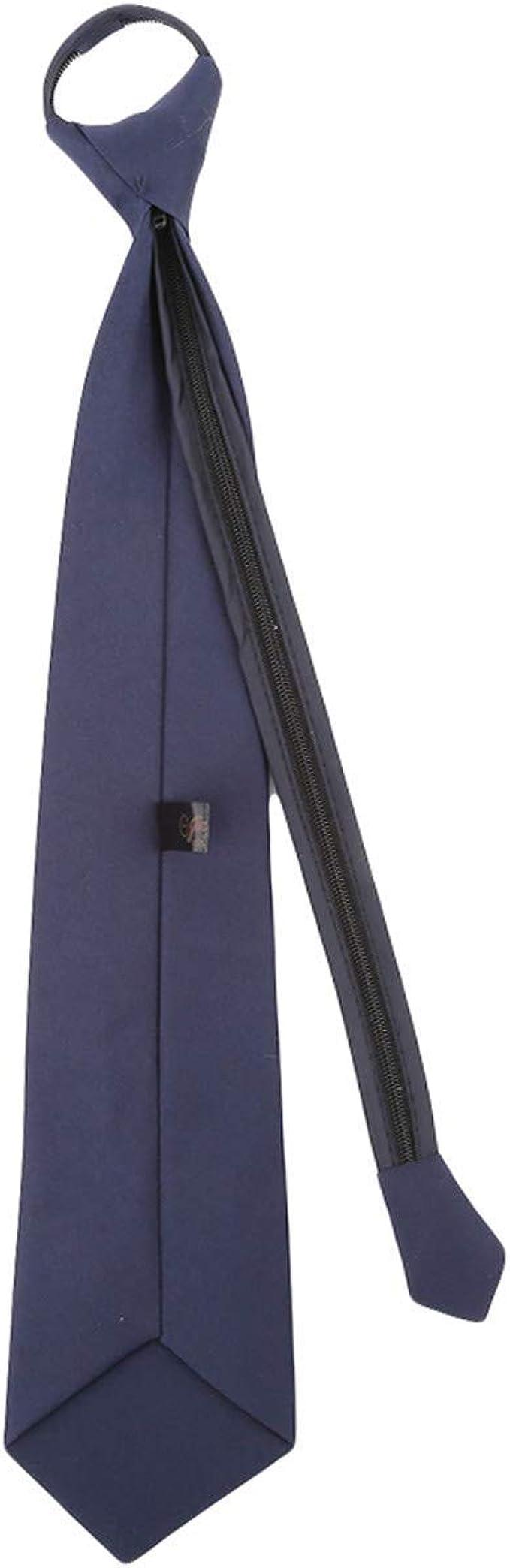 Fliyeong Lazy - Corbata para adulto (cierre casual, corbatín de ...