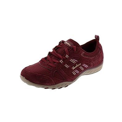 Skechers - Breathe Easy Good Luck 22544 - Burgundy, Tamaño:EUR 37: Amazon.es: Zapatos y complementos