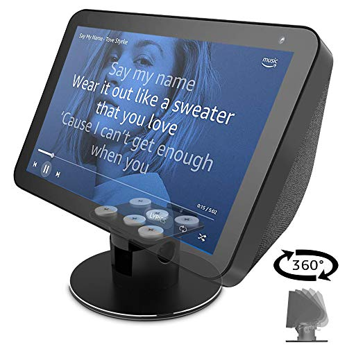 ATOPHK Echo Show 8 Adjustable Aluminum Swivel Stand, 6 Magnet adsorption Show Bases , Stand for Amazon Echo Show 8…