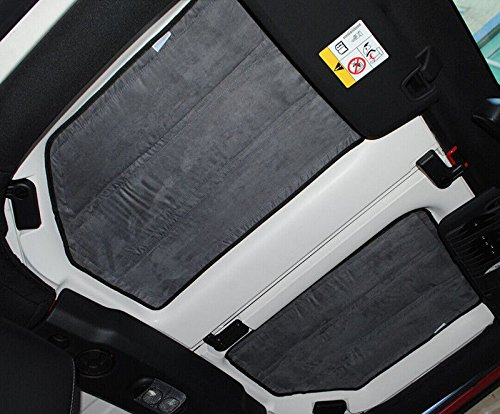Amooca Hardtop Heat Insulation Kit Fit For 2011 2012 2013 2014 2015 Wrangler JK 4 Door