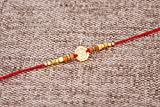 Designer Rakhi Thread for Brother Bhaiya Traditional Rakshabandhan Rakhee Bracelet