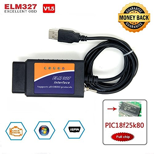 Forscan elm327 USB Switch Android OBD Modified elmconfig with FTDI chip  HS-CAN/MS-CAN OBD2