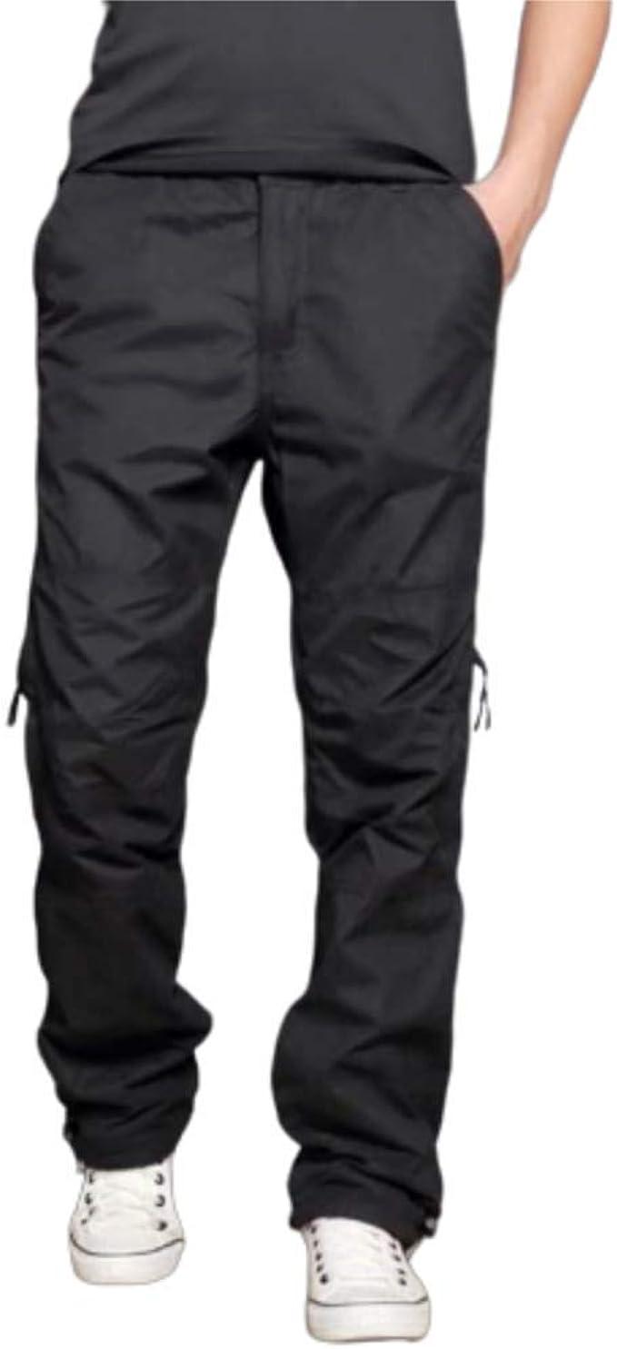Monos Para Exteriores Pantalones Calidos Y Gruesos De Terciopelo Para Hombres Pantalones Casuales Sueltos Multibolsillos Hombres Mas Terciopelo De Gran Tamano Amazon Es Ropa Y Accesorios