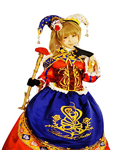 Mtxc Women's Love Live! Cosplay Costume Nozomi Tojo Magician themed cards Size X-Large Red by Mtxc