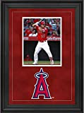 "Sports Memorabilia Los Angeles Angels Deluxe 8"" x 10"" Vertical Photograph Frame with Team Logo - Baseball Other Display Cases"