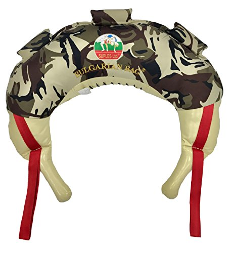 Bulgarian Bag – Camouflage – Suples (The Original) + WORKOUT DVD (Fitness, Crossfit, Wrestling, Judo, Grappling, Functional Training, MMA, Sandbag, Powerbag, Cardio, Strength) … – DiZiSports Store