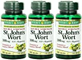 Nature's Bounty St. John's Wort, Double Strength, 300mg, 300 Capsules (3 X 100 Count Bottles) Review