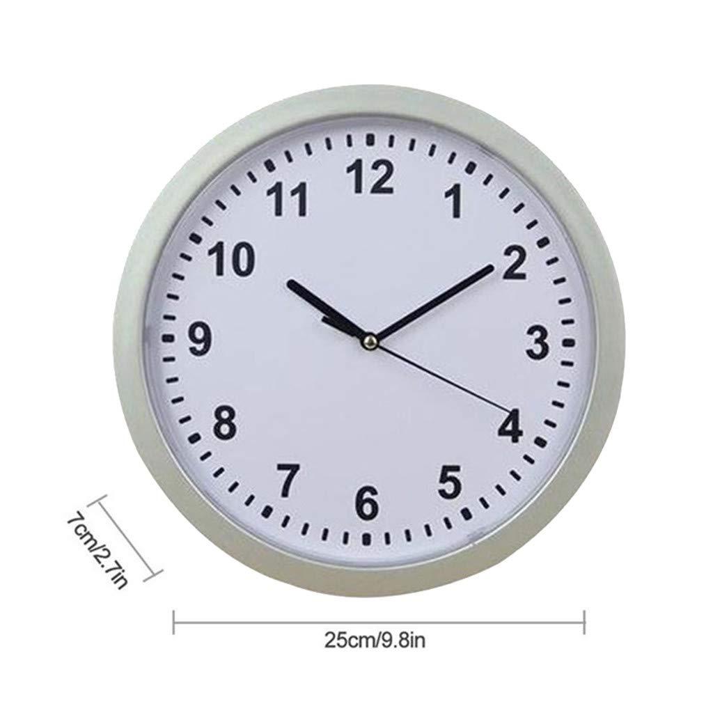 Wffo 1 Pcs Creative Wall Clock♚Hidden Safe Clock♚Safe Secret Safes♚Hidden Safe Wall Clock for Secret Stash Money Cash Jewelry♚Hide Valuablesstash Cash by Wffo
