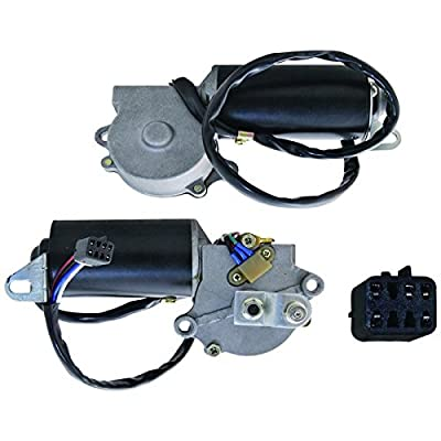 New Front Wiper Motor For 1987 1988 1989 1990 1991 1992 1993 1994 1995 Jeep Wrangler/YJ, Replaces Chrysler 56030005 227137 40-432