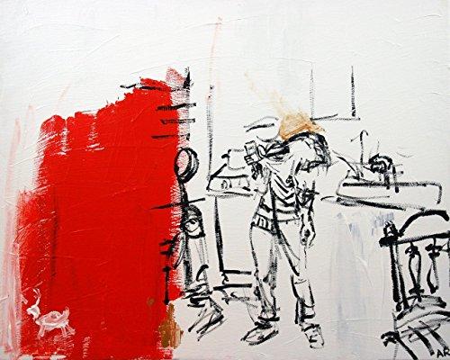 2010 Somerset - Painting, Original Art, 20 x 16 inches