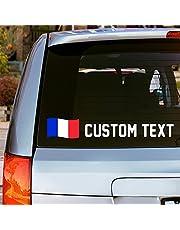 Custom Text Vinyl Window Car Decal Sticker