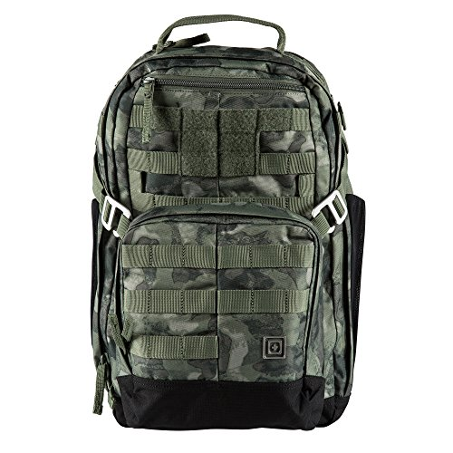 5.11 MIRA 2-in-1 Tactical Backpack 25L + Crossbody Purse CCW Conceal Carry Ready, Style 56348, Camo Moss (Best Tactical Backpack 2019)