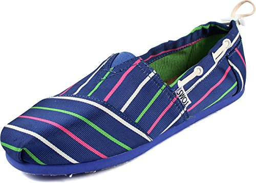 Toms - Youth Slip-On Blue Stripe Bimini