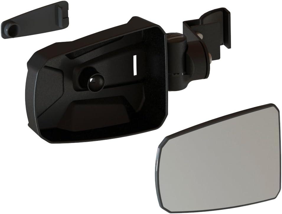 Seizmik Red Strike Side View Mirrors for Honda Pioneer 1000 1000-5