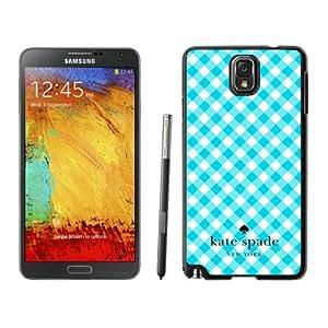 New Fashion Custom Designed Kate Spade Samsung Galaxy Note 3 N900A N900V N900P N900T Black Phone Case Cover 026
