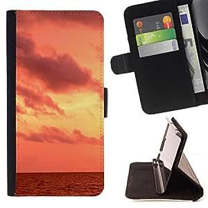For Samsung Galaxy Note 4 IV - Nature Beautiful Forrest Green 97 /Funda de piel cubierta de la carpeta Foilo con cierre magn???¡¯????tico/ - Super Marley Shop -