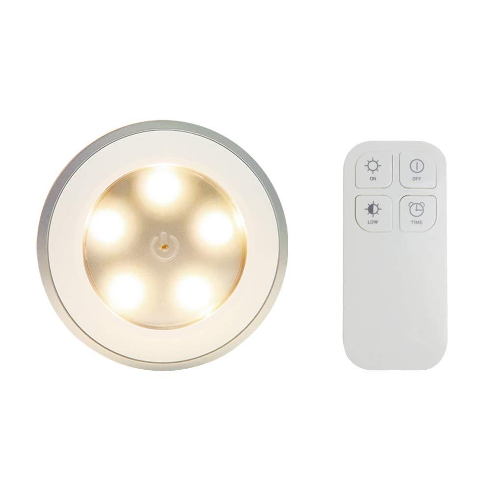 2PCS Kit de interruptor de luz inalámbrico Sensor de movimiento Luz LED remota cLight para uso en la oficina en casa: Amazon.es: Iluminación