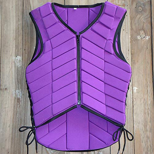 HILASON MEDIUM ADULT SAFETY EQUESTRIAN EVENTING PROTECTIVE PROTECTION VEST