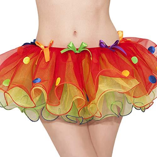 Sassy Clown Tutu - Adult Standard | 3 Ct -