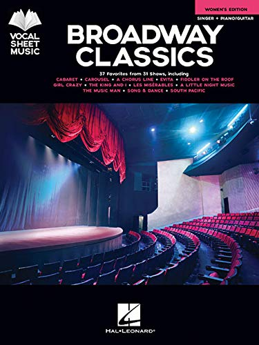 Broadway Classics - Women's Edition: Singer + Piano/Guitar