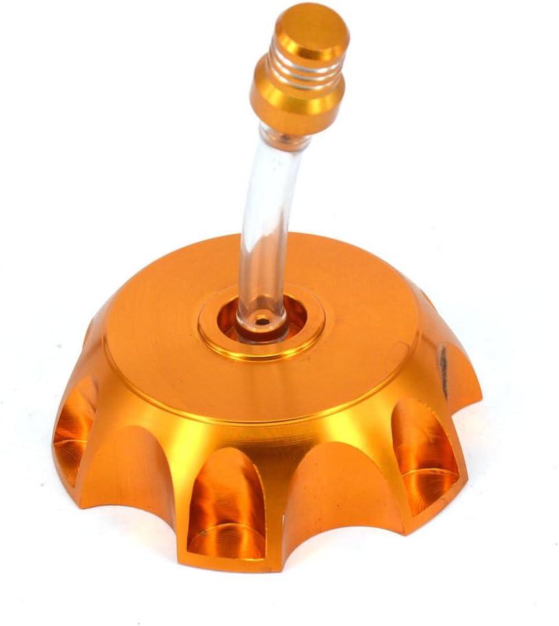 Lumix GC 49mm Billet CNC Gas Fuel Cap Gold For 50cc 110cc Honda CRF50 XR50 KawasakI KLX110