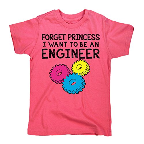 Engineer Short Sleeve T-shirt (Air Waves Forget Princess, Engineer -Toddler Short Sleeve TEE-2T)