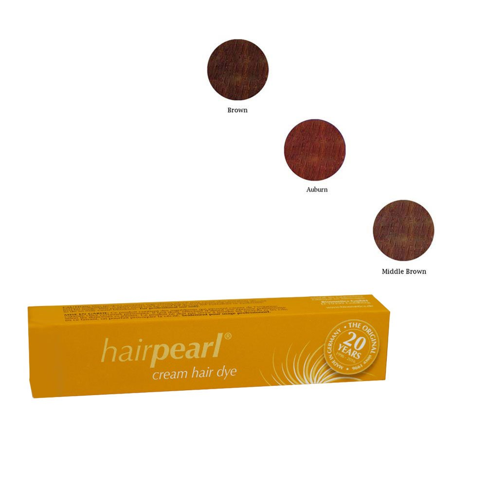 Hair Pearl Tint Set (Brown, Auburn, & Middle Brown)