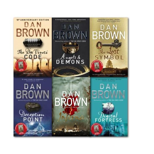 Inferno Dan Brown Collection 6 Books Set [Paperback] by