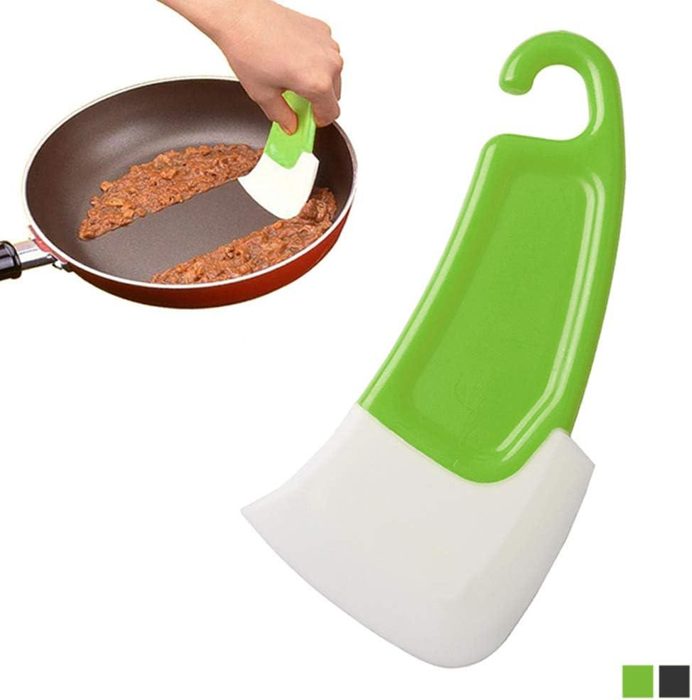 Silicone Spatula Pot Pan Scraper Cooking Baking Tool Dishwashing Kitchen Utensil
