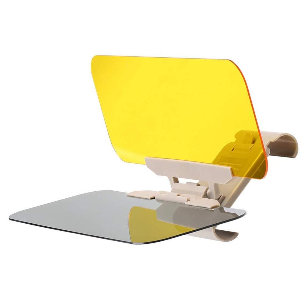 Flysea Car Sun Visor Extender, 2 in 1 Anti-Glare Visor Day and Night Sun Protection Visor for Car Windshield, Universal Car Sun Shade Accessories for Eye Protector Safety Driving