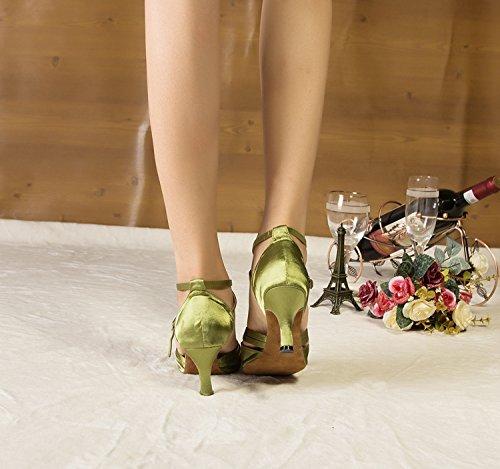 Miyoopark heel Salle 7 bal de Green 5cm femme 0C0TrH