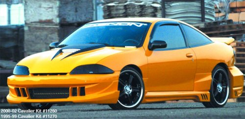 Xenon 11270 95-99 Chevrolet Cavalier Coupe 4-Piece Ground Effects (4 Piece Ground Effects)