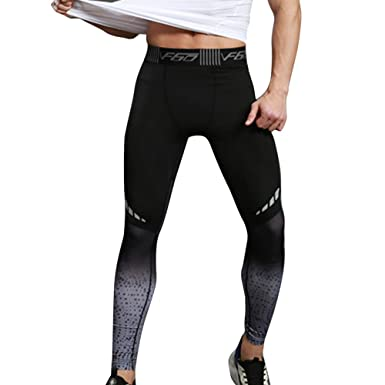 8e4fef918ec Vertvie Mens Compression Sports Pants Yoga Leggings Tights Running Clothes  for Gym Workout  Amazon.co.uk  Clothing