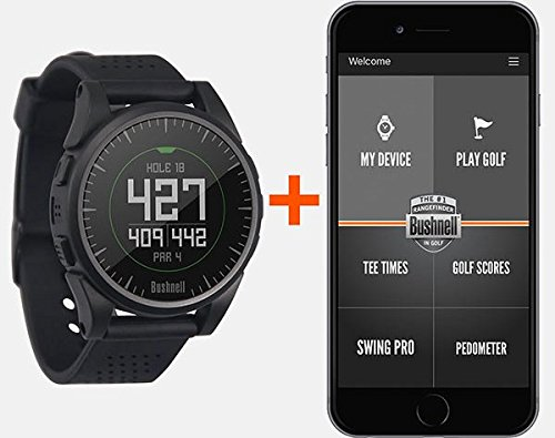 Bushnell Excel (Black) Golf GPS Watch | Power Bundle with PlayBetter USB Car & Wall Charging Adapter | Color Display, 35,000+ Worldwide Courses by PlayBetter (Image #3)