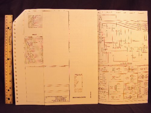 1984 84 ford mustang \u0026 mercury capri electrical wiring 2001 Ford Mustang Wiring Diagram